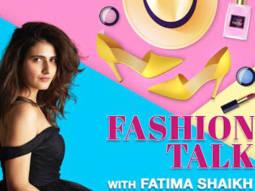 Fashion Talk with Fatima Sana Shaikh Beauty Life Style Bollywood Hungama