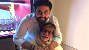 Amitabh Bachchan shares an old letter written by Abhishek Bachchan; latter mocks his own writing