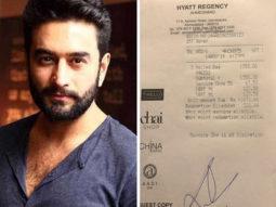 After Rahul Bose, Shekar Ravjianii shares bill of 'an exorbitant meal'