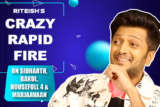 HILARIOUS Riteish's Message to CRITICS Manipulation in Housefull 4 Biz Rapid Fire Marjaavaan
