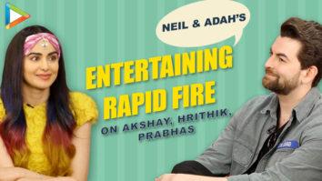HUNGAMEDAAR Rapid Fire of Neil Nitin Mukesh & Adah Sharma on Akshay Kumar, Hrithik Roshan, Prabhas-01