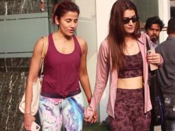 Kriti Sanon spotted at Gym, Andheri