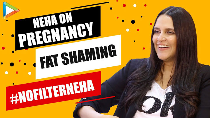 Neha Dhupia on her podcast show No Filter Neha Slams TROLLERS for Fat Shaming Pregnancy Movies