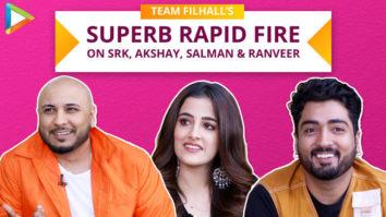 Nupur, Jaani & B Praak's MAZEDAAR Rapid Fire on Salman Khan, SRK, Akshay Kumar & Ranveer Filhall