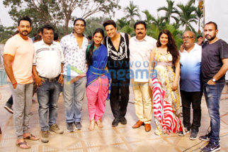 On The Sets Of The Movie 'O' Pushpa I Hate Tears