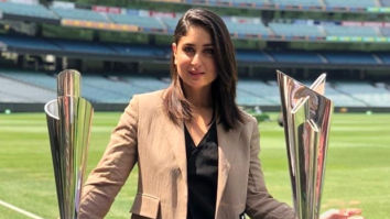 PICTURES Kareena Kapoor Khan unveils the trophies for T20 World Cup in Melbourne, making the Pataudi clan proud