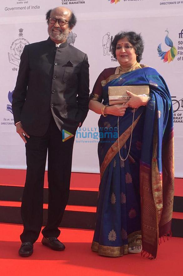 Photos Amitabh Bachchan, Rajinikanth, Karan Johar and others snapped at the opening ceremony of IFFI 2019 (1)