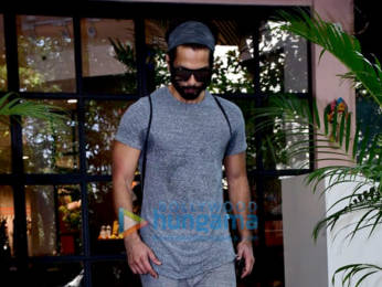 Photos: Janhvi Kapoor, Shahid Kapoor and Mira Kapoor spotted at gym in Bandra