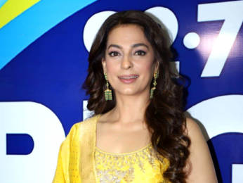 Photos: Juhi Chawla snapped at Big FM