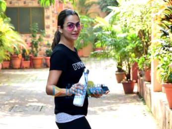 Photos: Malaika Arora, Amrita Arora and Seema Khan snapped at Diva Yoga Studio in Bandra