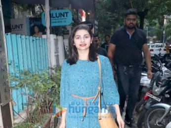 Photos: Dia Mirza and Prachi Desai spotted at BBlunt salon, Khar