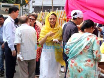 Photos: Rakul Preet Singh snapped a gurudwara
