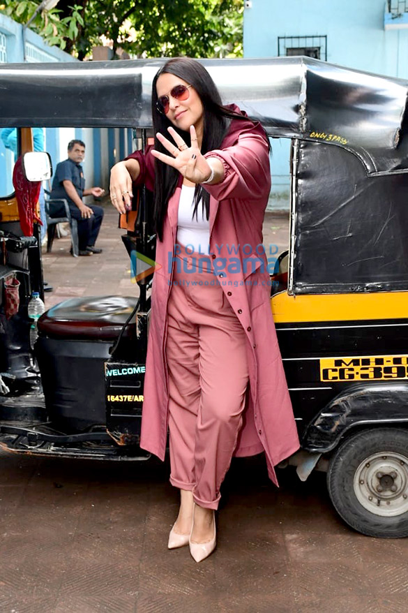 Photos: Rohit Shetty and Neha Dhupia snapped on sets of the show No Filter Neha – Season 4
