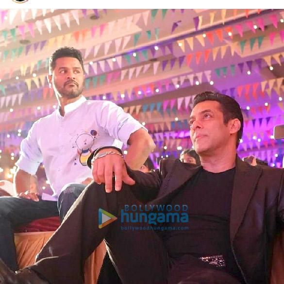 Photos Salman Khan, Prabhu Dheva, Warina Hussain, Arbaaz Khan and Nikhil Dwivedi grace the song launch of 'Munna Badnaam Hua' from their film 'Dabangg 3'2