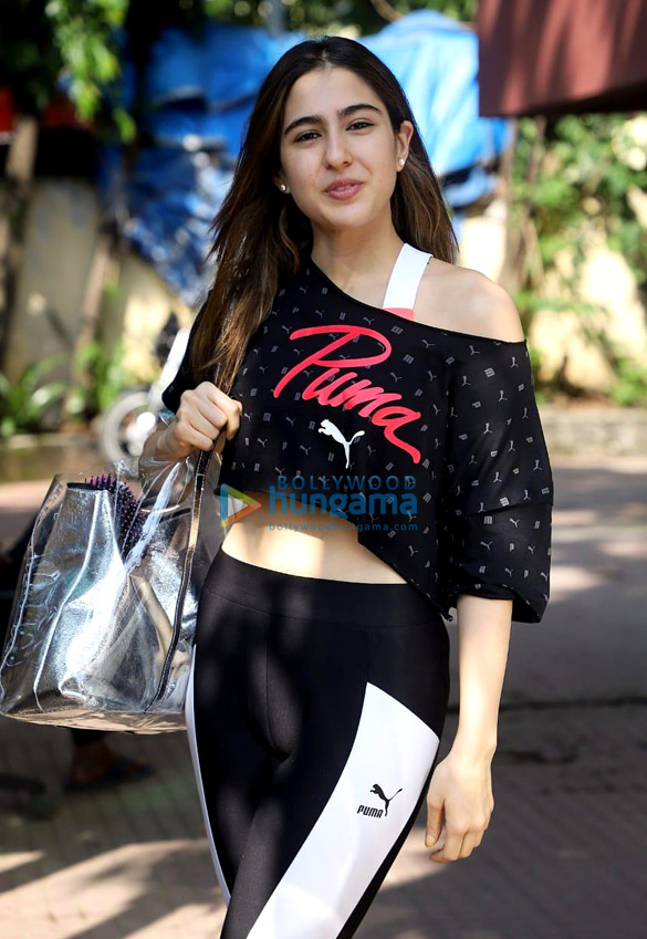 Photos: Sara Ali Khan spotted at gym