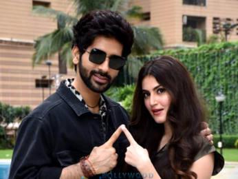 Photos: Vardhan Puri and Shivaleeka Oberoi snapped promoting Yeh Saali Aashiqui