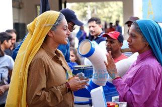 On The Sets Of The Movie Saand Ki Aankh