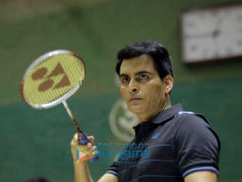 On The Sets Of The Movie Saina Nehwal's Biopic