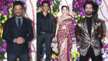 Salman Khan, Madhuri Dixit, Anil Kapoor & others at Devaansh Barjatya's Wedding Reception