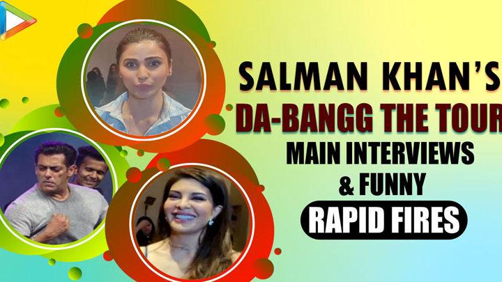Salman Khan's DA-BANGG Team - Jacqueline, Daisy, Mudassar Full Interview ENTERTAINING Rapid Fires