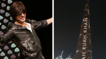 Shah Rukh Khan is grateful to see his name on Burj Khalifa on his 54th birthday