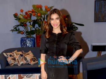 Photos: Sophie Choudry spotted at Ace Tech exhibition of Rocky S in Bandra