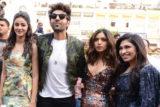 Team Pati Patni Aur Woh launches their new song Ankhiyon Se Goli Mare in Delhi