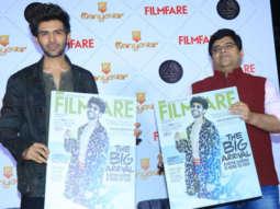 WATCH Kartik Aaryan unveils the november coverpage of Filmfare