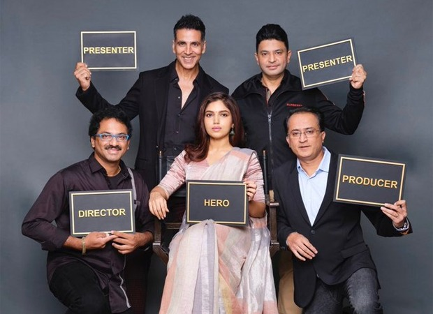 WE BROKE IT FIRST! Akshay Kumar announces Bhumi Pednekar in and as Durgavati