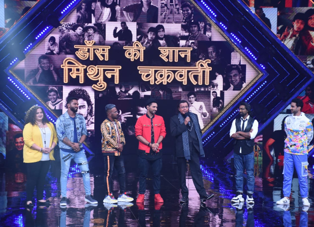 Mithun Chakraborty gets teary eyed after Dance+ team pays him a tribute
