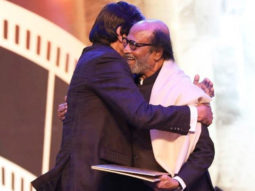 IFFI 2019: Amitabh Bachchan and Rajinikantn share a moment of camaraderie at the inaugural ceremony