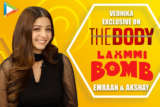 """Akshay Kumar sir is FABULOUS with…"" Vedhika on Laxmmi Bomb & Kanchana Emraan Hashmi The Body"