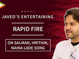 """""""Hrithik Roshan – My Voice SUITS him the MOST""""Javed's EPIC Rapid Fire Naina Lade Song AR Rahman"""
