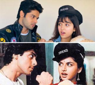 30 Years Of Maine Pyar Kiya: Abhimanyu Dassani and Shirley Setia celebrates recreate Salman Khan and Bhagyashree's iconic scene
