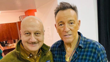 After Sting, Anupam Kher meets Bruce Springsteen