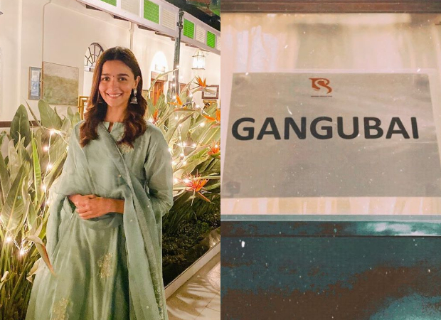 Alia Bhatt commences the shoot for Sanjay Leela Bhansali's Gangubai Kathiawadi!