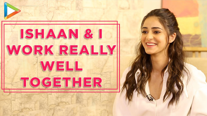 "Ananya Panday ""I was really NERVOUS to work with Kartik Aaryan, Bhumi because…"" Pati,Patni Aur Woh"