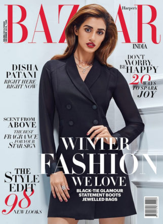 Disha Patani On The Cover Of Bazar