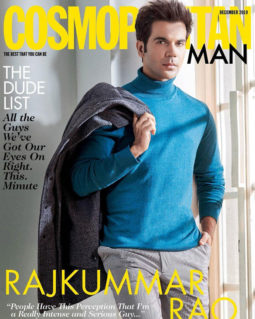 Rajkummar Rao On The Cover Of Cosmopolitan
