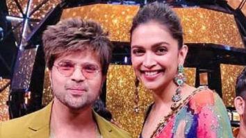 Deepika Padukone and Himesh Reshammiya perform on 'Naam Hai Tera Tera' on the sets of Indian Idol 11
