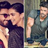 Deepika Padukone and Ranveer Singh swoon over Hrithik Roshan while watching War