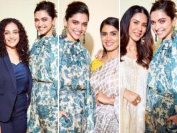 Deepika Padukone bonds with three regional stars - Nithya Menen, Sonali Kulkarni and Sonam Bajwa
