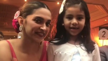 Deepika Padukone interacts with a little girl at the Lokmat Style Awards 2019 and she's winning hearts all over again!