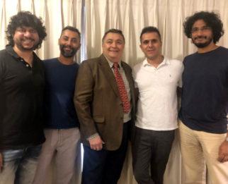 Excel Entertainment reunites Bol Radha Bol pair Rishi Kapoor and Juhi Chawla in Sharmaji Namkeen