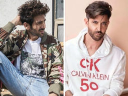Hrithik Roshan takes the Dheeme Dheeme challenge with Kartik Aaryan, and nails it!