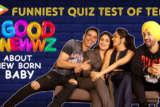 Funniest Quiz of Team Good Newwz about New Born Baby Facts Akshay Kareena Kiara Diljit