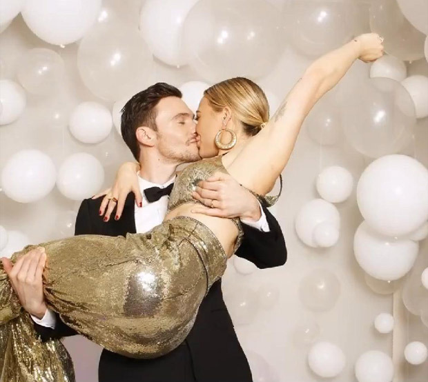 Hilary Duff and Matthew Koma share first wedding photo from their private ceremony