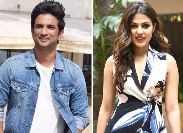 Is Sushant Singh Rajput recommending his ladylove Rhea Chakraborty to producers?