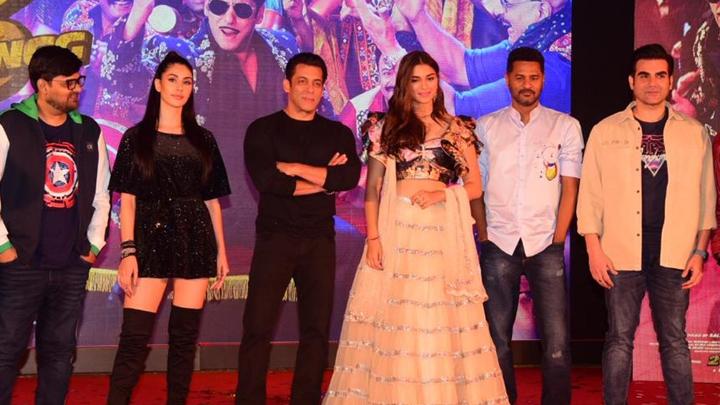 Munna Badnaam Hua Song Launch with Salman Khan & cast Dabangg 3 Prabhudeva