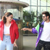 PICTURES Kartik Aaryan and Deepika Padukone have a DANCE OFF on 'Dheeme Dheeme' at the airport!